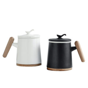 Ceramic tea mug with filters 400ml