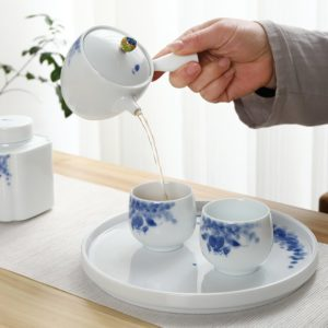 TANGPIN ceramic tea sets handpainted kung fu tea sets teapot gaiwan teacups portable travel office tea set