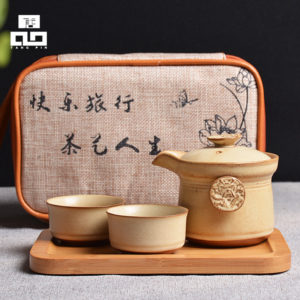 Ceramic teapot kettle portable travel tea set